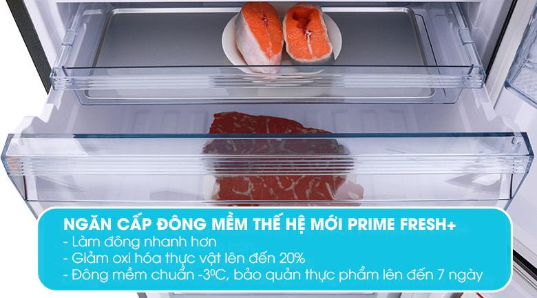 Prime Fresh +Tủ lạnh Panasonic Inverter 322 lít NR-BC360WKVN