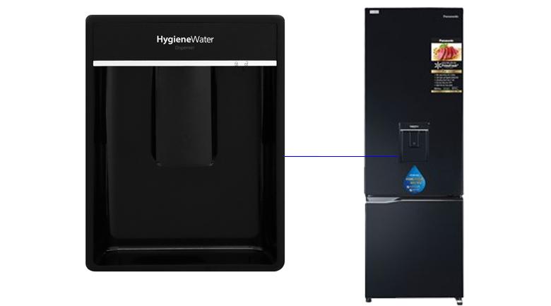 Khay lấy nước ngoài Tủ lạnh Panasonic Inverter 322 lít NR-BC360WKVN