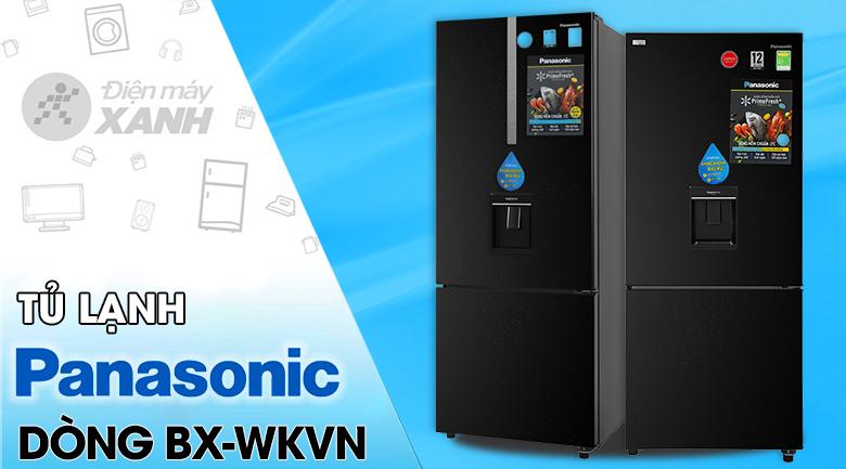 Tủ lạnh Panasonic Inverter 368 lít NR-BX410WKVN