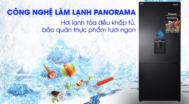 Panaroma Tủ lạnh Panasonic Inverter 368 lít NR-BX410WKVN