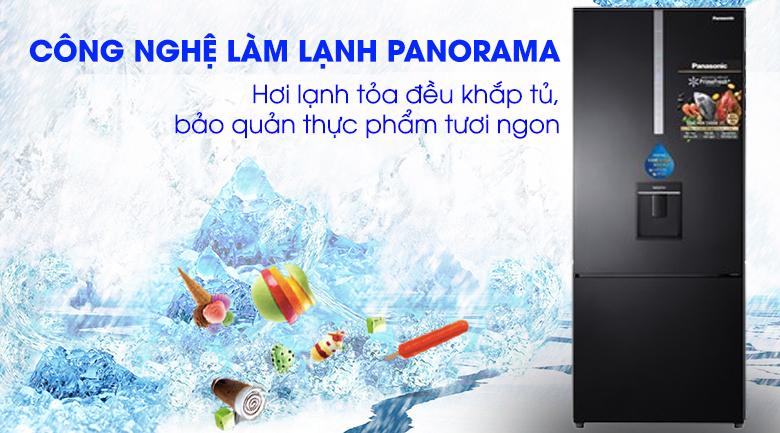 Panaroma Tủ lạnh Panasonic Inverter 410 lít NR-BX460WKVN