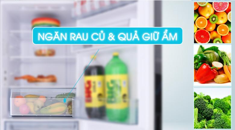 Fresh Safe Tủ lạnh Panasonic Inverter 410 lít NR-BX460WSVN
