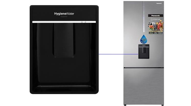 Khay lấy nước ngoài Tủ lạnh Panasonic Inverter 410 lít NR-BX460WSVN