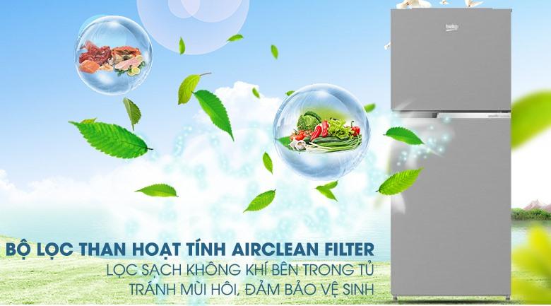 AirClean Filter-Tủ lạnh Beko Inverter 340 lít RDNT371I50VS