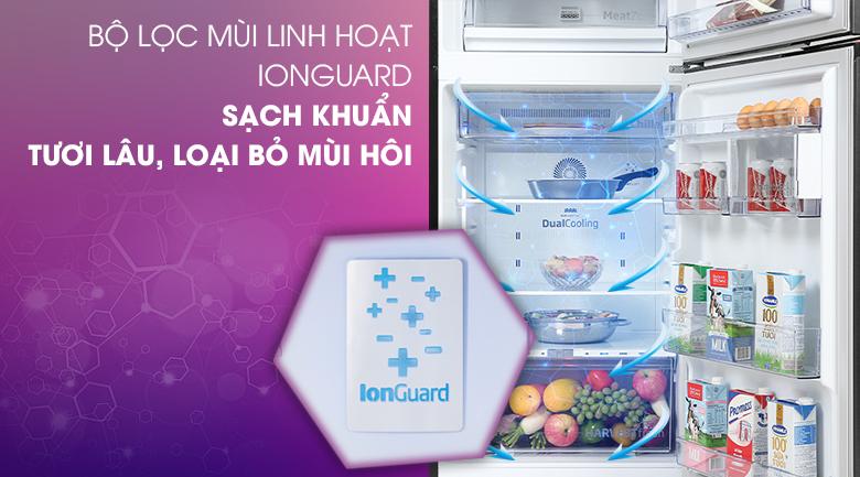 Tủ lạnh Beko Inverter 340 lít RDNT371E50VZK - Bộ lọc mùi IonGuard