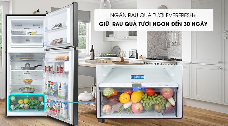 Tủ lạnh Beko Inverter 340 lít RDNT371E50VZK - Ngăn Everfresh