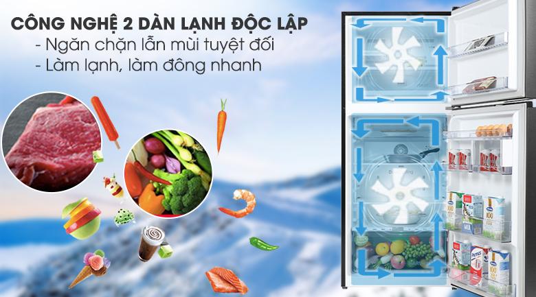 Tủ lạnh Beko Inverter 340 lít RDNT371E50VZK - 2 dàn lạnh độc lập