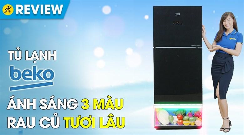Tủ lạnh Beko Inverter 340 lít RDNT371E50VZGB