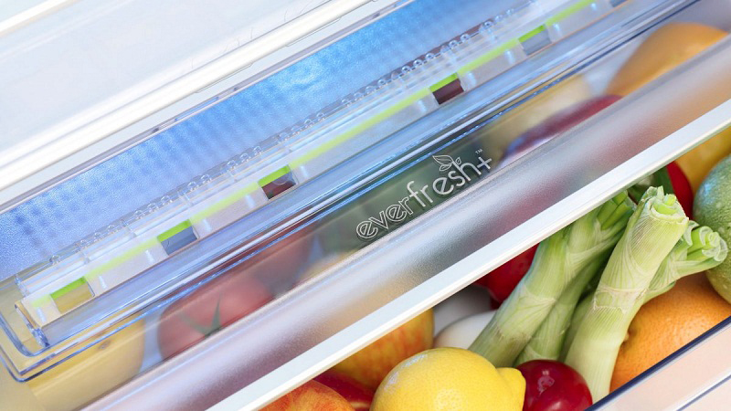 Tủ lạnh Beko Inverter 340 lít RDNT371E50VZGB-Duy trì độ tươi ngon rau củ với ngăn giữ ẩm Everfresh+