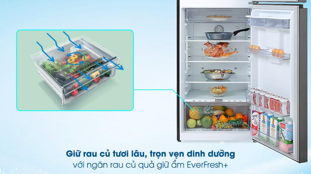 ngăn rau giữ ẩm - Tủ lạnh Beko Inverter 375 lít RDNT401E50VZDK Mới 2020