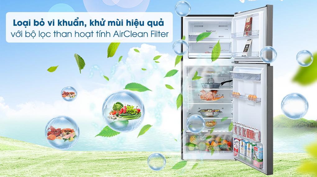 AirClean Filter - Tủ lạnh Beko Inverter 375 lít RDNT401E50VZDK Mới 2020