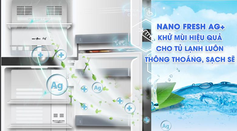 Công nghệ khử mùi - Tủ lạnh Aqua Inverter 186 lít AQR-T219FA