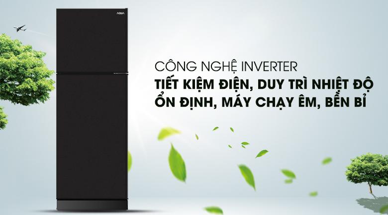Inverter - Tủ lạnh Aqua Inverter 186 lít AQR-T219FA