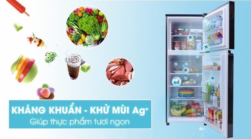Tủ lạnh Panasonic Inverter 188 lít NR-BA229PKVN-Kháng khuẩn, loại bỏ mùi hôi mạnh mẽ với công nghệ Ag Clean