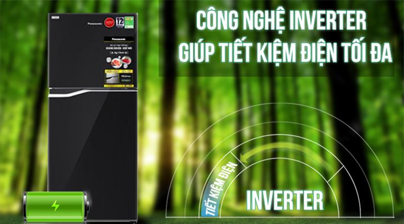 Tủ lạnh Panasonic Inverter 188 lít NR-BA229PKVN-Siêu tiết kiệm điện với công nghệ Inverter