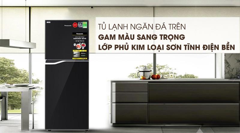 Tủ lạnh Panasonic Inverter 188 lít NR-BA229PKVN-Gam màu sang trọng, lớp phủ sơn tĩnh điện bền