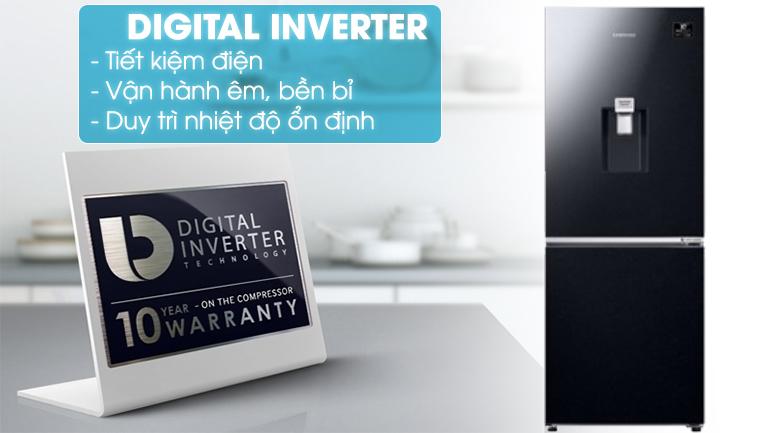 Digital Inverter-Tủ lạnh Samsung Inverter 276 lít RB27N4170BU/SV