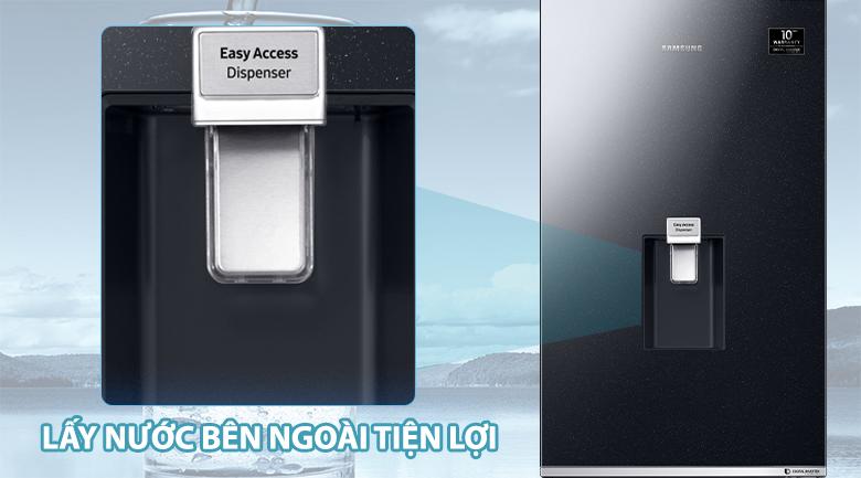 Lấy nước ngoài - Tủ lạnh Samsung Inverter 307 lít RB30N4170BU/SV