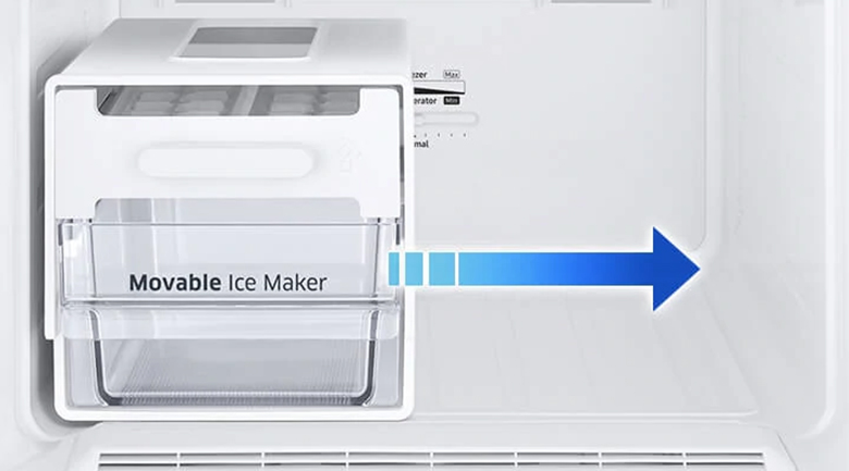 Movable Ice Maker - Tủ lạnh Samsung RB30N4170BU/SV