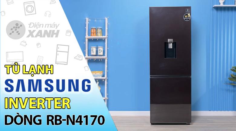 Tủ lạnh Samsung Inverter 307 lít RB30N4170BY/SV