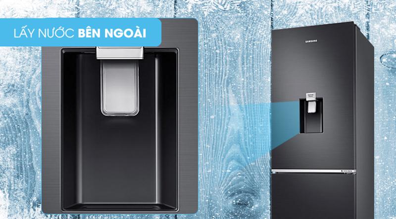 Tủ lạnh Samsung Inverter 307 lít RB30N4170BY/SV-Dùng ngay nước lạnh với tiện ích lấy nước bên ngoài