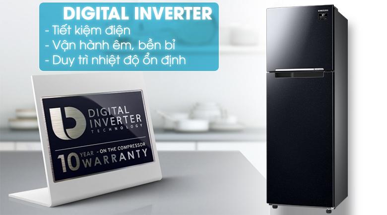 Digital Inverter - Tủ lạnh Samsung RT25M4032BU/SV