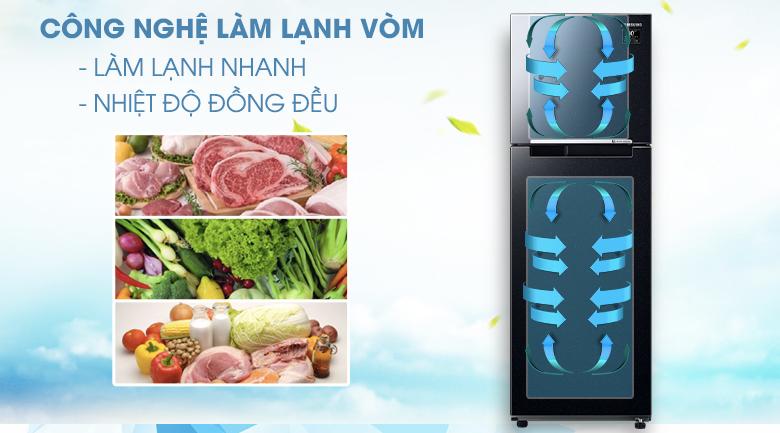 Công nghệ làm lạnh vòm - Tủ lạnh Samsung Inverter 236 lít RT22M4032BU/SV