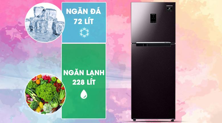 Dung tích - Tủ lạnh Samsung Inverter 300 lít RT29K5532BY/SV