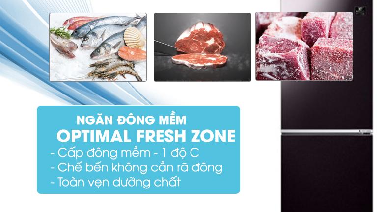 Ngăn đông mềm Optimal Fresh Zone - Tủ lạnh Samsung Inverter 280 lít RB27N4010BY/SV