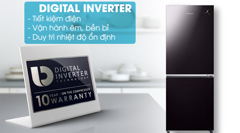 Digital Inverter - Tủ lạnh Samsung Inverter 280 lít RB27N4010BY/SV