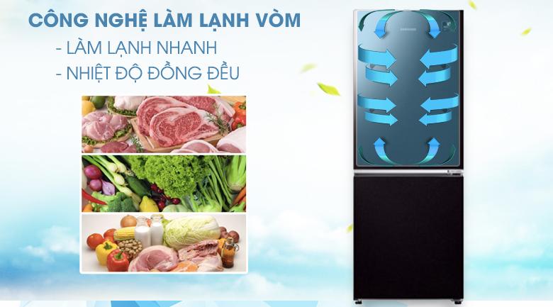 Làm lạnh vòm - Tủ lạnh Samsung Inverter 280 lít RB27N4010BY/SV
