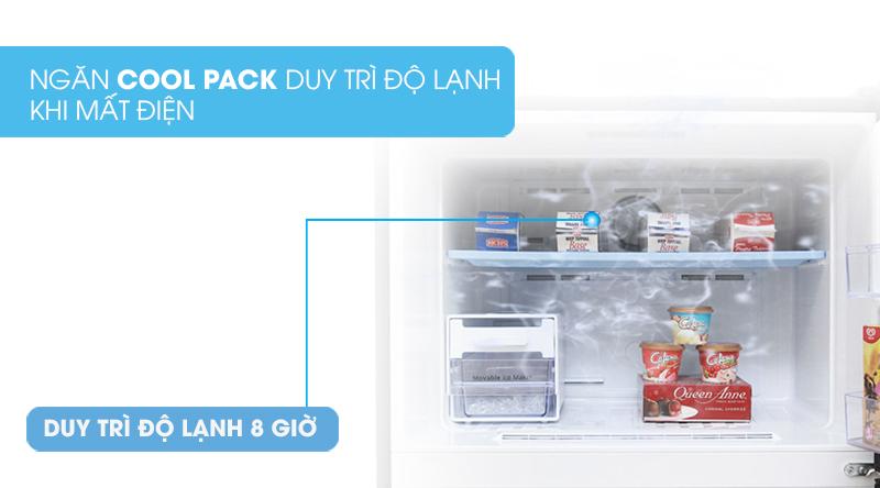 Tủ lạnh Samsung Inverter 380 lít RT38K50822C/SV-Giúp bảo quản thực phẩm đến 8 tiếng khi mất điện nhờ công nghệ Mr.CoolPack