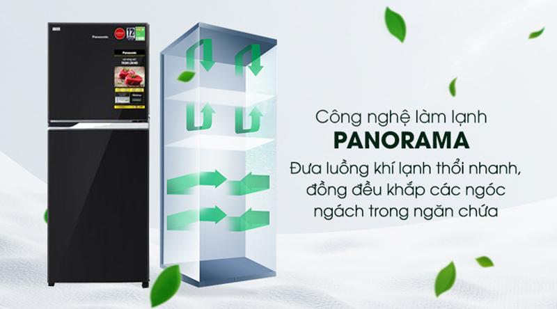 Tủ lạnh Panasonic Inverter 234 lít NR-BL263PKVN-Bảo quản thực phẩm toàn điện cùng công nghệ Panorama