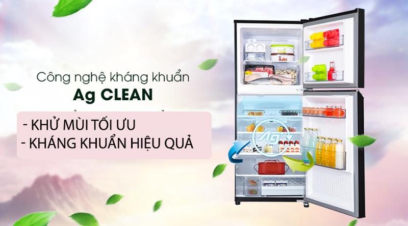 Tủ lạnh Panasonic Inverter 234 lít NR-BL263PKVN-Loại bỏ mùi hôi hiệu quả, kháng khuẩn tối ưu nhờ công nghệ Ag Clean