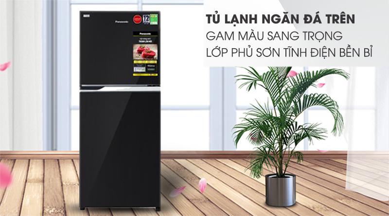 Tủ lạnh Panasonic Inverter 234 lít NR-BL263PKVN-Gam màu sang trọng, lớp phủ sơn tĩnh điện bền bỉ