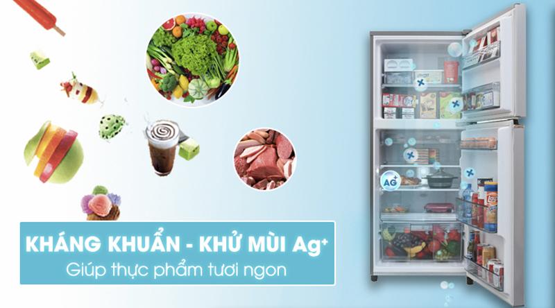 Tủ lạnh Panasonic Inverter 234 lít NR-BL26AVPVN-Khử mùi mạnh mẽ, kháng khuẩn tối ưu nhờ bộ lọc tinh thể Ag Clean