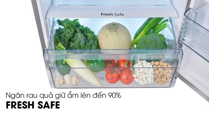 Tủ lạnh Panasonic Inverter 234 lít NR-BL26AVPVN-Bảo quản rau quả tươi lâu trong ngăn giữ ẩm Fresh Safe
