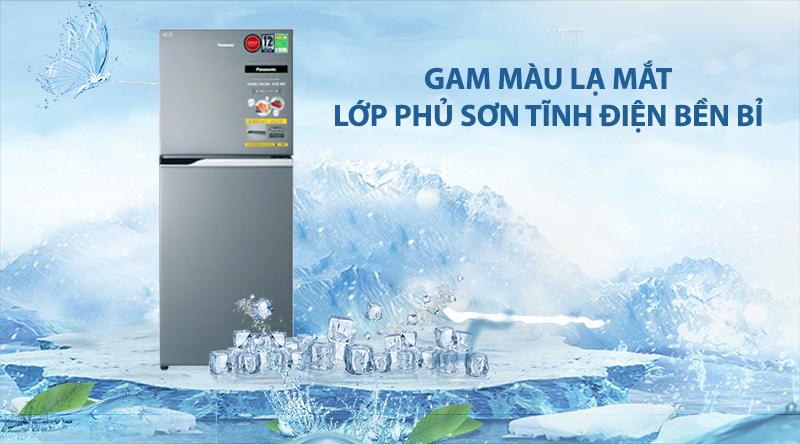 Tủ lạnh Panasonic Inverter 234 lít NR-BL26AVPVN-Gam màu lạ mắt, cùng lớp phủ sơn tĩnh điện bền bỉ