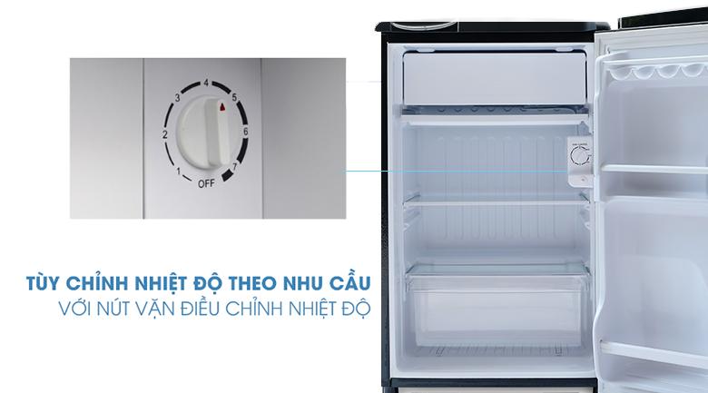 Nút vặn điều chỉnh nhiệt độ-Tủ lạnh Aqua 90 lít AQR-D99FA