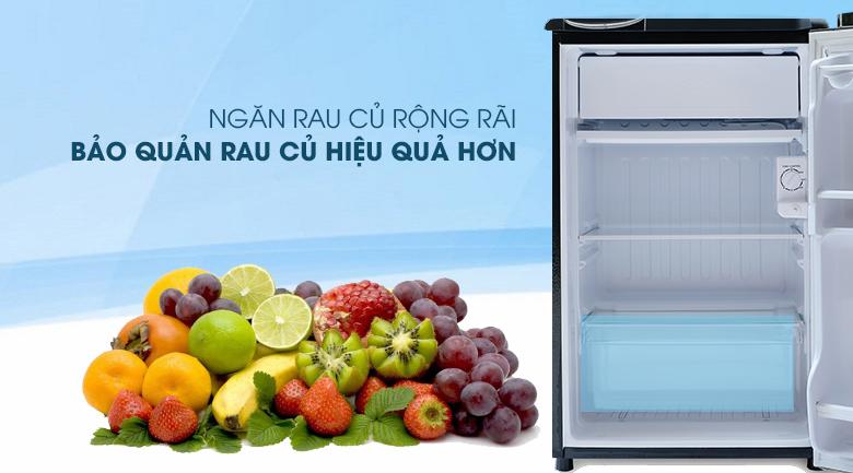 Ngăn rau-Tủ lạnh Aqua 90 lít AQR-D99FA