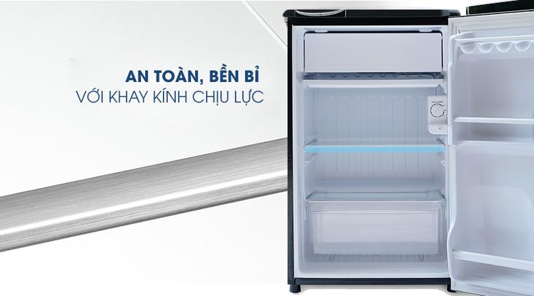 Khay kính chịu lực-Tủ lạnh Aqua 90 lít AQR-D99FA
