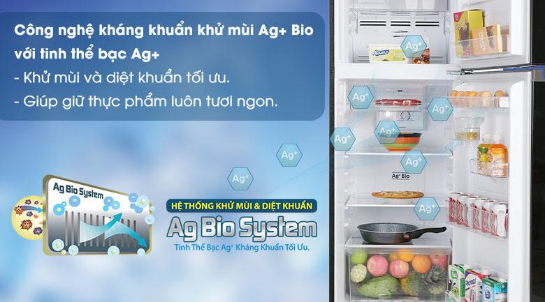 Ag+ Bio-Tủ lạnh Toshiba Inverter 233 lít GR-A28VM