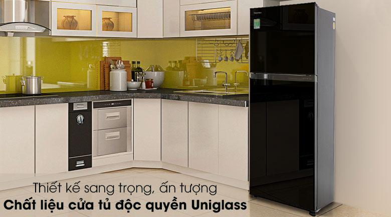 Thiết kế-Tủ lạnh Toshiba Inverter 233 lít GR-A28VM