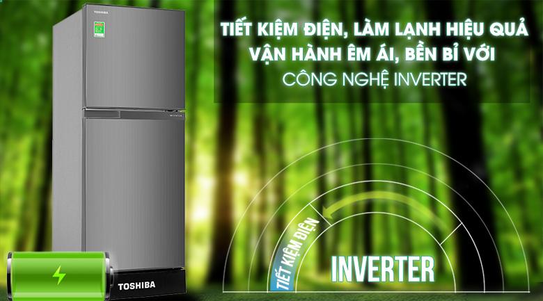 Inverter - Tủ lạnh Toshiba Inverter 194 lít GR-A25VS(DS1)