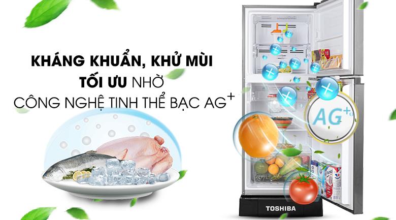 Công nghệ Bio Ag+ - Tủ lạnh Toshiba Inverter 194 lít GR-A25VS(DS1)