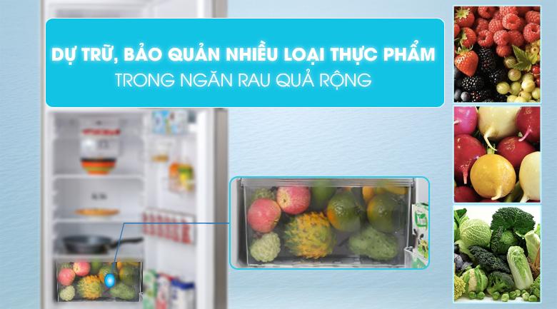 Ngăn rau củ - Tủ lạnh Toshiba Inverter 233 lít GR-A28VS(DS1)