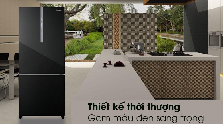 Tủ lạnh Panasonic NR-BX410GKVN - Thiết kế