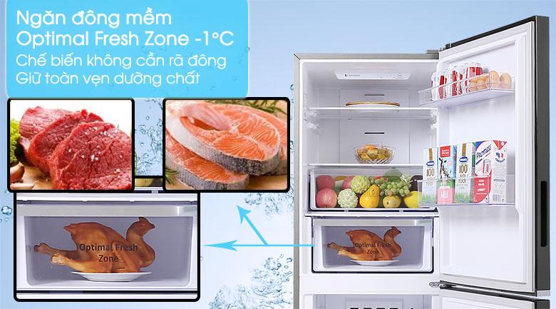 Tủ lạnh Samsung Inverter 280 lít RB27N4010BU/SV - Ngăn đông mềm Optimal Fresh Zone