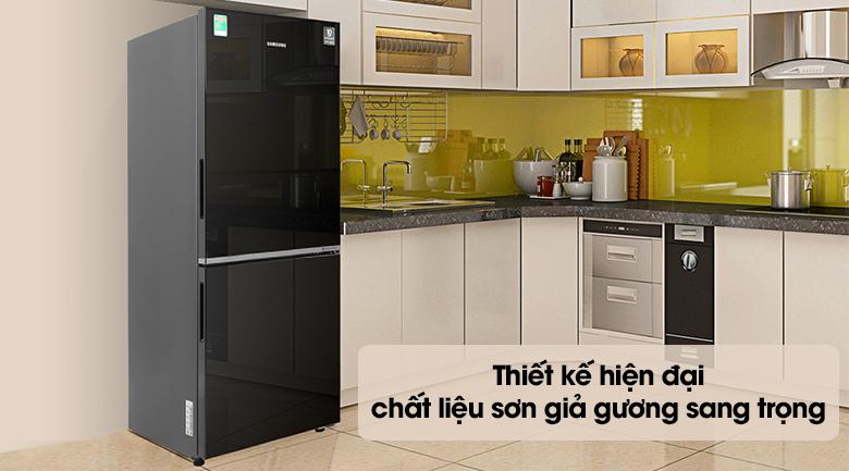 Tủ lạnh Samsung Inverter 280 lít RB27N4010BU/SV - Thiết kế