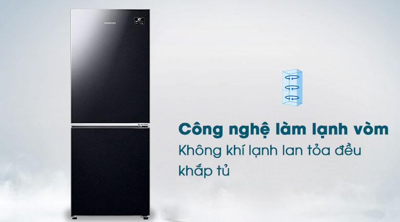 Tủ lạnh Samsung Inverter 280 lít RB27N4010BU/SV - Làm lạnh vòm